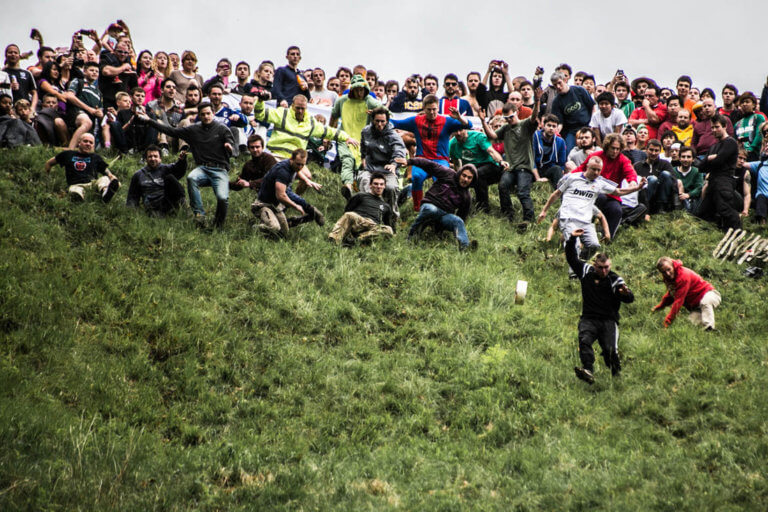 Cooper's Hill Cheese-Rolling and Wake